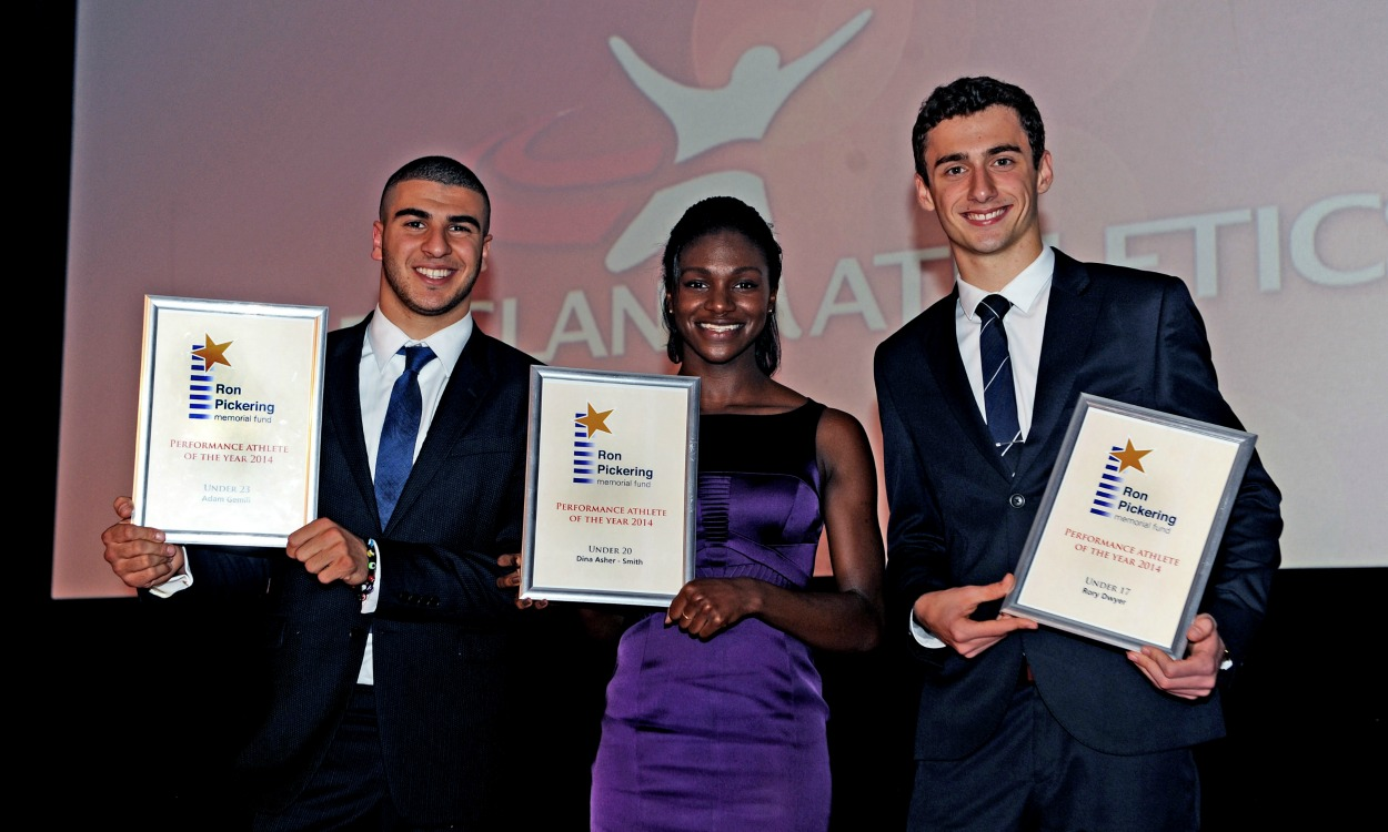 Athletes rewarded by the RPMF